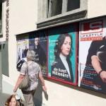 Plakatwand SYSLAB, Susanna Perin, Oliver Krähenbühl, Félix Stampfli