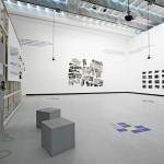 Side view installation Antonella perin, Susanna Perin, Alessandro Lanzetta